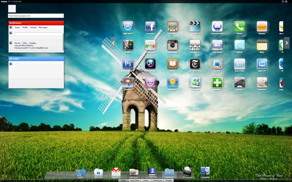 iPadian-free-emulator